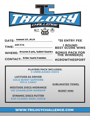 Gladiolus Days Trilogy Challenge graphic