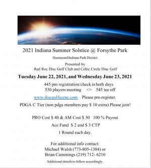 2021 Indiana Summer Solstice @  Forsythe Park graphic
