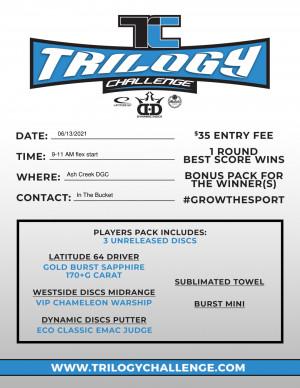 2021 Trilogy Challenge at Ash Creek graphic