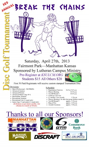"""3rd Annual LCM """"Break The Chains"""" graphic"""