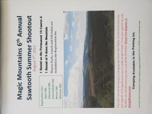 Magic Mountains 6th Annual Sawtooth Summer Shootout graphic