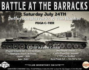 Battle at the Barracks graphic