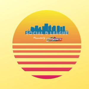 Social D Summer League Registration graphic