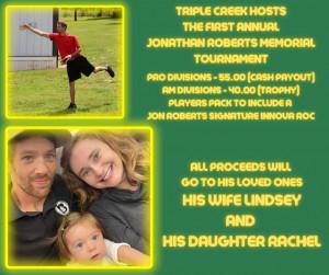 Jon Jacob Roberts Open at Triple Creek graphic