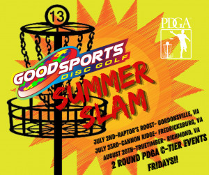Good Sports Summer Slam- Event #2 Cannon Ridge Crush graphic