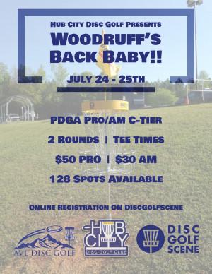 Woodruff's Back Baby!! graphic