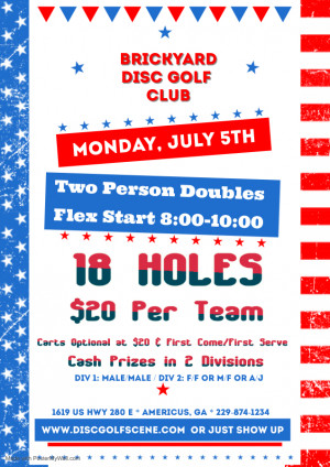 Independence Day Doubles graphic