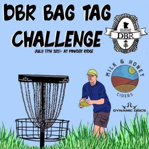 2021 DBR Bag Tag Challenge graphic
