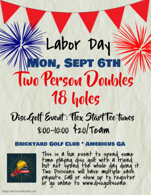 Labor Day Doubles graphic