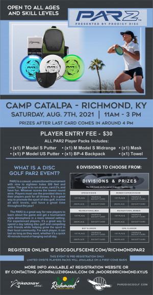 Camp Catalpa Par 2 Challenge graphic