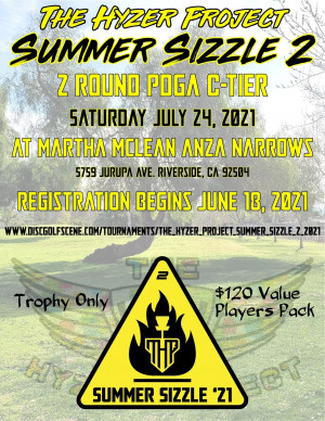 The Hyzer Project Summer Sizzle 2: Driven by Innova / Legacy Discs graphic