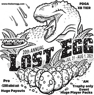 2021 Lost Egg - Supported by Innova graphic