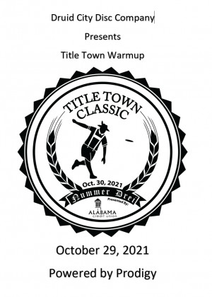 Title Town Warmup Powered by Prodigy graphic