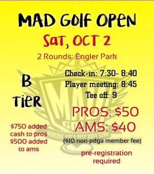MAD Golf Open graphic