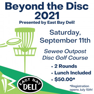 3rd Annual Beyond the Disc Presented by East Bay Deli graphic