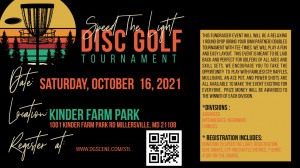 Speed The Light Disc Golf Tournament graphic