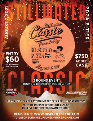 The Stillwater Classic Presented By Hideaway Pizza, Driven By Innova graphic