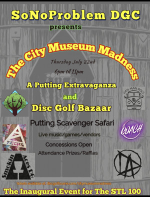 The City Museum Madness graphic