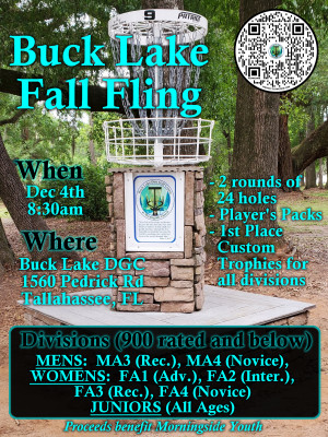 Buck Lake Fall Fling graphic