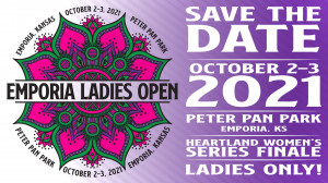 3rd Annual Emporia Ladies Open presented by Dynamic Discs graphic
