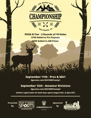 The Muddy Run Championship (Pros/MA1) - Presented by: Play It Again Sports Lancaster graphic