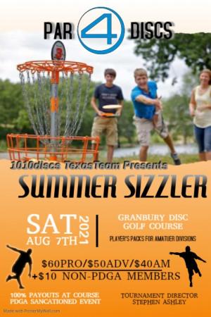 1010discs TexasTeam presents Summer Sizzler graphic