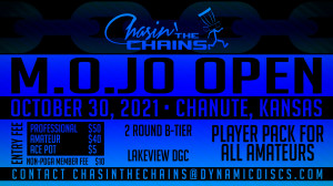 Dynamic Discs Presents The 2021 M.O.Jo Open graphic