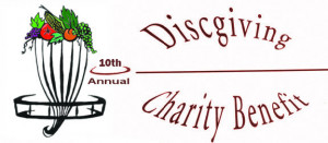 10th Discgiving Charity Event graphic