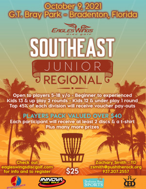 Eagles Wings Junior Southeast Regional graphic