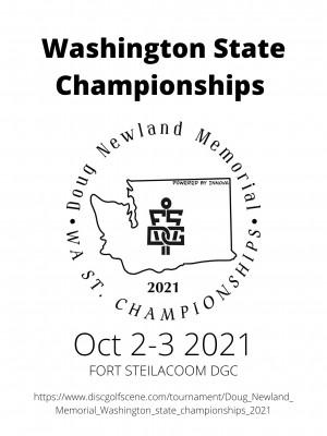 Doug Newland Memorial - Washington state championships - Powered by Innova graphic