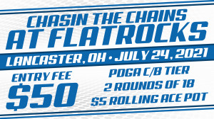 Chasin the Chains at Flat Rocks presented by Dynamic Discs graphic