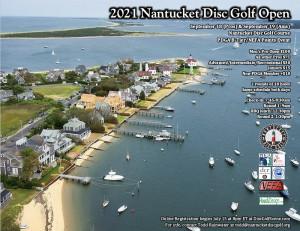 2021 Nantucket Disc Golf Open - Ams graphic