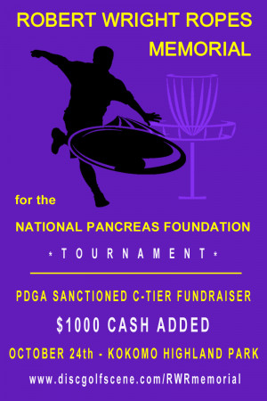 Robert Wright Ropes Memorial for the National Pancreas Foundation graphic