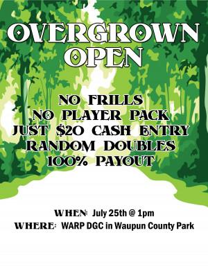 Overgrown Open graphic