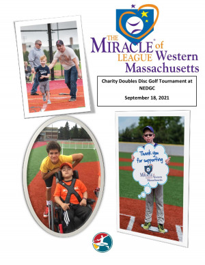 The Miracle League of Western Mass 2021 Charity Doubles graphic