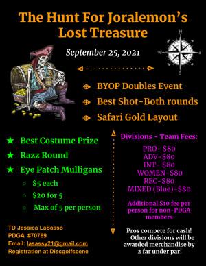 The Hunt for Joralemon's Lost Treasure graphic