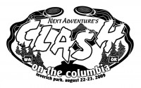 Next Adventure's Clash on the Columbia graphic