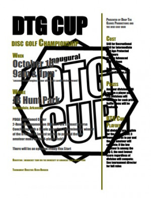 DTG Cup driven by Discraft graphic