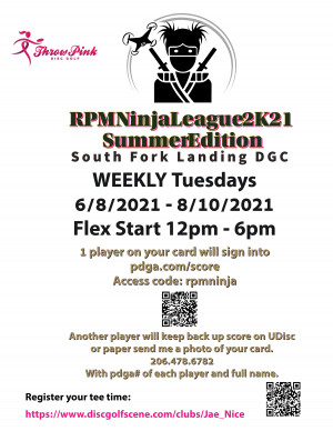 RPM Ninja League 2K21 - Summer Edition - WEEK 9 graphic