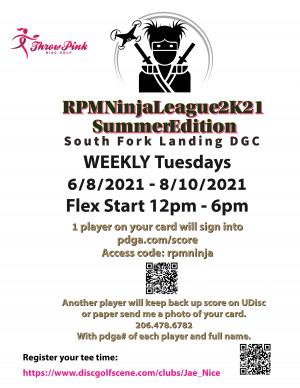 RPM Ninja League 2K21 - Summer Edition - WEEK 8 graphic