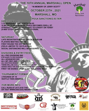 The 10th Annual Marshall Open graphic