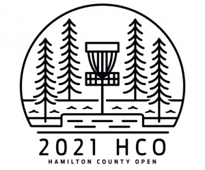 The Hamilton County Open IX - presented by Chubb Disc Golf, fueled by Feazel roofing graphic