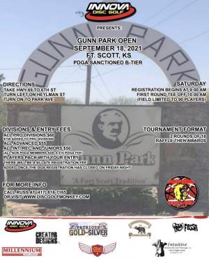 Gunn Park Open graphic