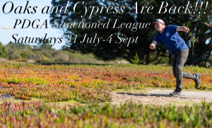 Oaks and Cypress Are Back-Sanctioned League-week 1 graphic