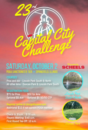 23rd Annual Capital City Challenge Presented by Scheels graphic