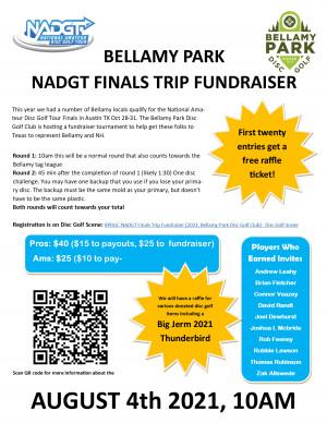 BPDGC NADGT Finals Trip Fundraiser graphic