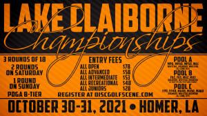 Dynamic Discs Presents: 2021 Lake Claiborne Championships graphic