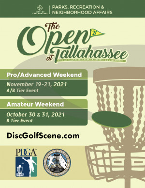 The 2021 Open at Tallahassee (Am Weekend) graphic
