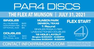 PAR4 Discs Presents the Munson Flex - Doubles graphic