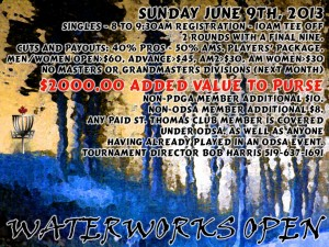 Waterworks Open graphic